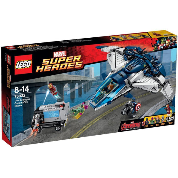 Lego Superhero  Age of Ultron: The Avengers Quinjet City Chase