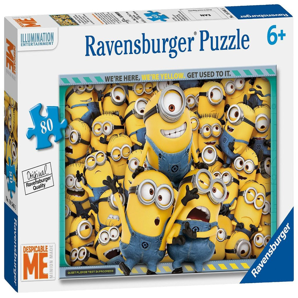 Ravensburger Despicable Me  80PC Jigsaw