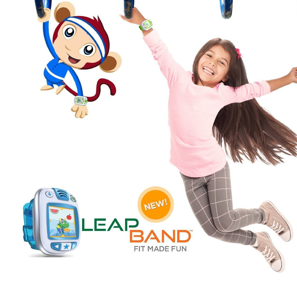 LeapFrog LeapBand Activity Tracker (Blue)