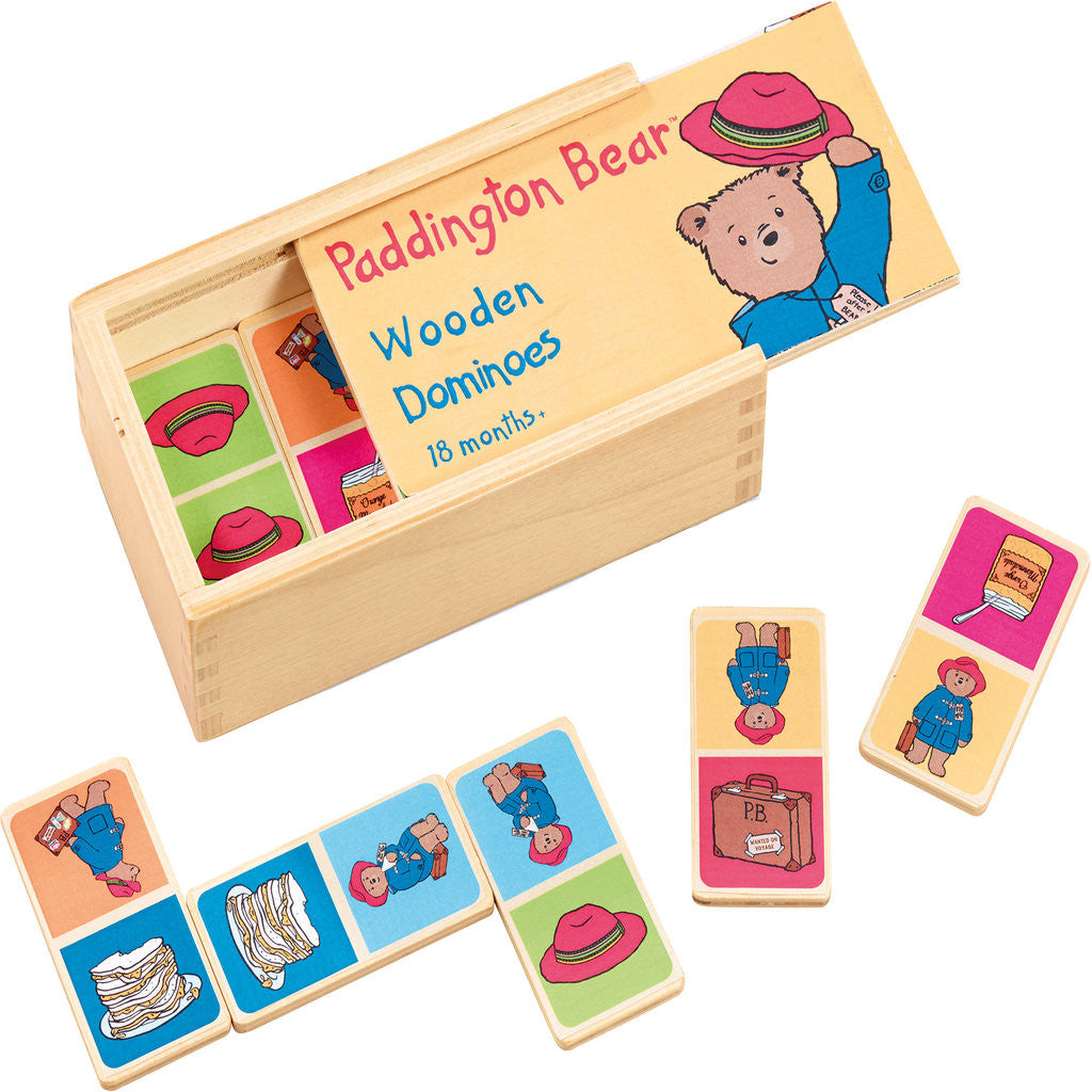 Paddington Bear Wooden Dominoes