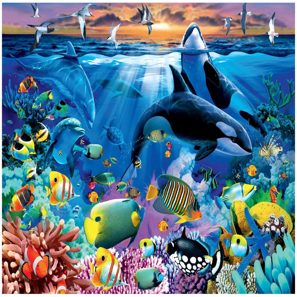 Ravensburger Oceanic Life 200 Piece Puzzle