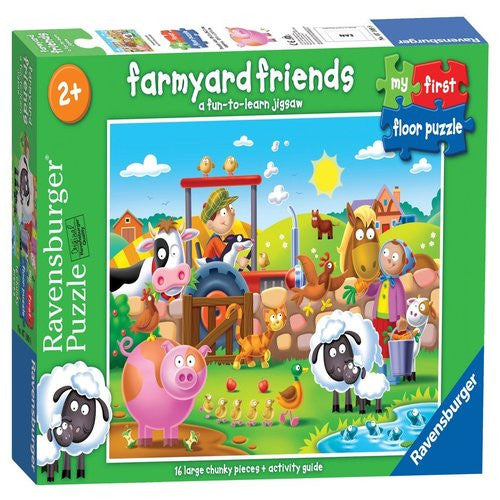 Ravensburger My First Floor Puzzle Farm (16 Pieces)