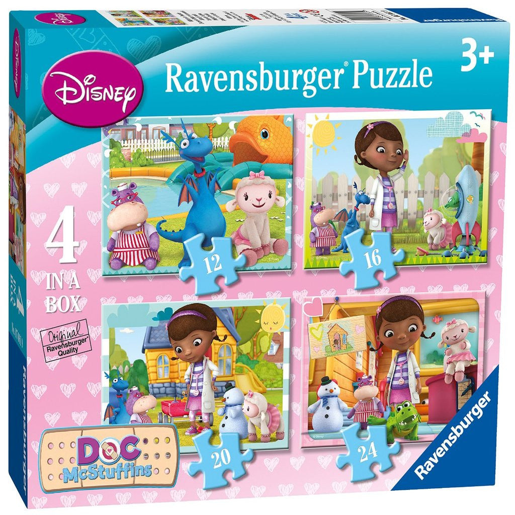 Ravensburger Doc McStuffins 4 in a Box Puzzle