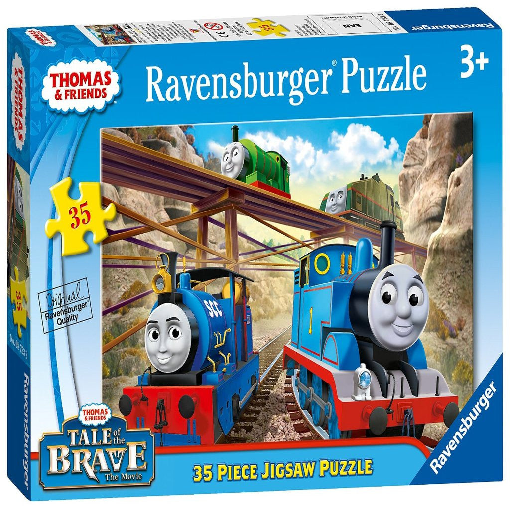 Ravensburger Thomas Tale of the Brave (35 Pieces)