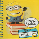 Despicabe Me A5 Spiral Notebook