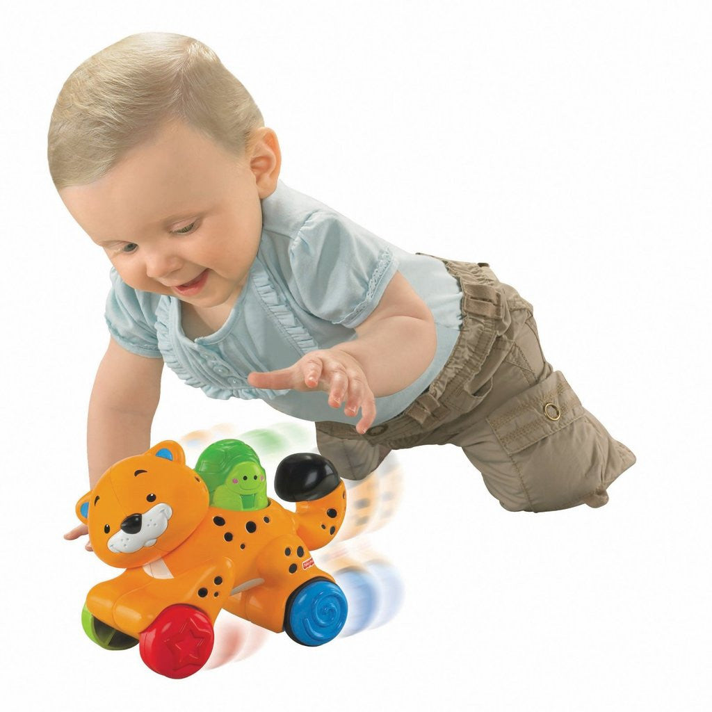 Fisher Price Amazing Animals Press and Go Cheetah