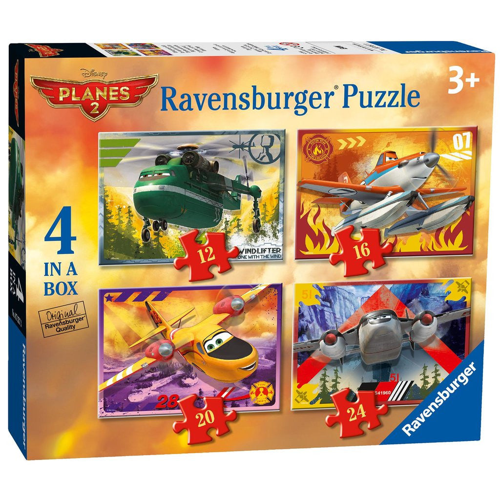 Ravensburger Disney Planes 2 - 4 in a Box