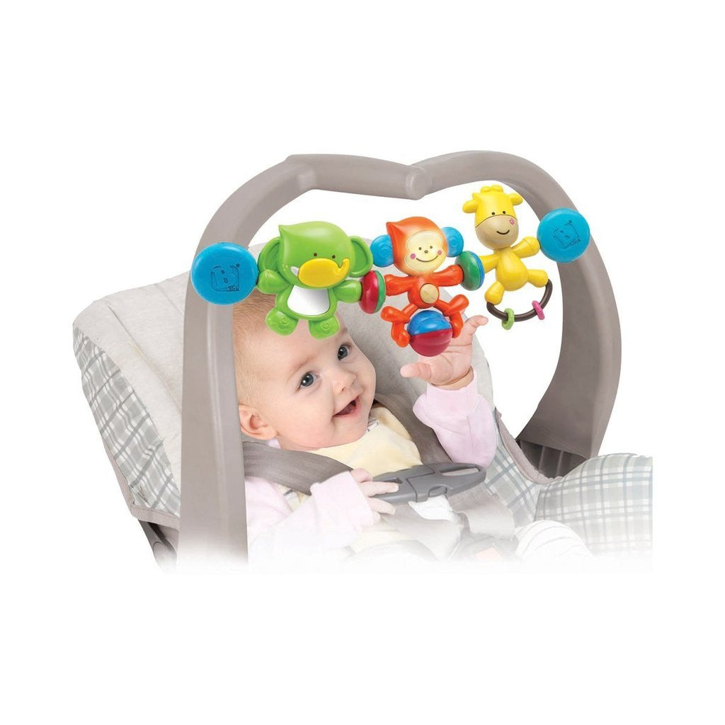 B Kids BeBee's Buddies Stroller Bar
