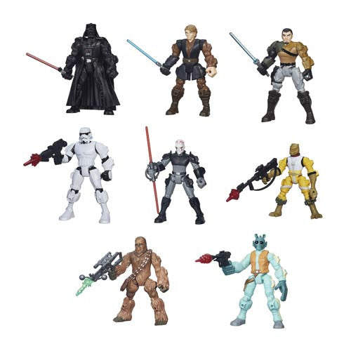 STAR WARS Hero Mashers Assorted