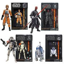 STAR WARS BLACK SERIES FIGURES