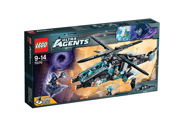 Lego Agents UltraCopter vs. AntiMatter
