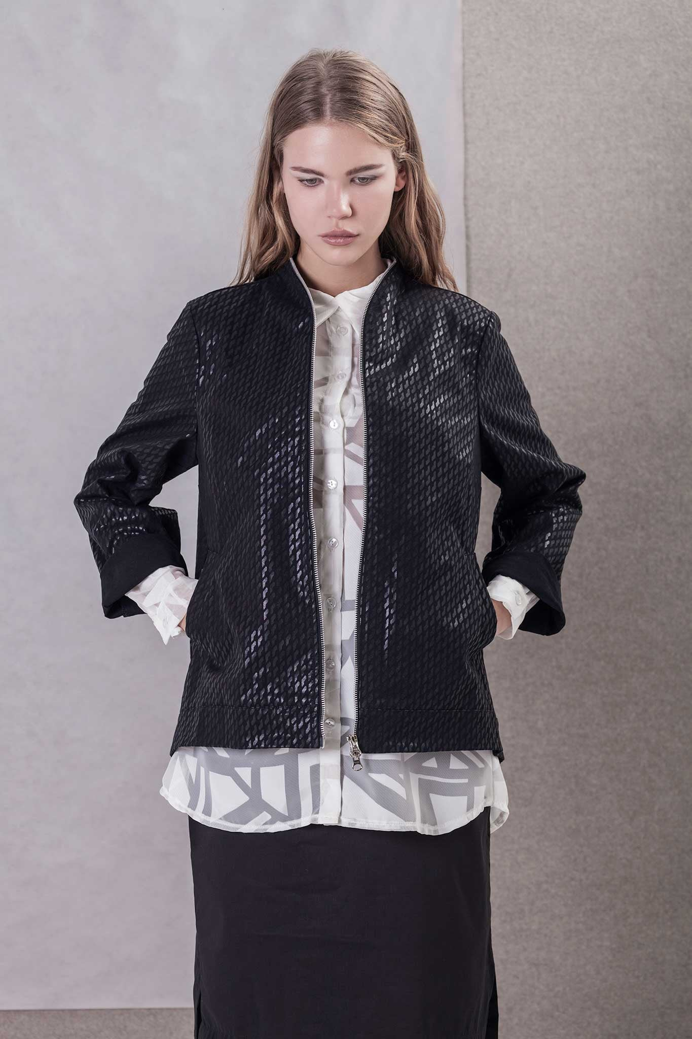 BLACK SHINE JACKET