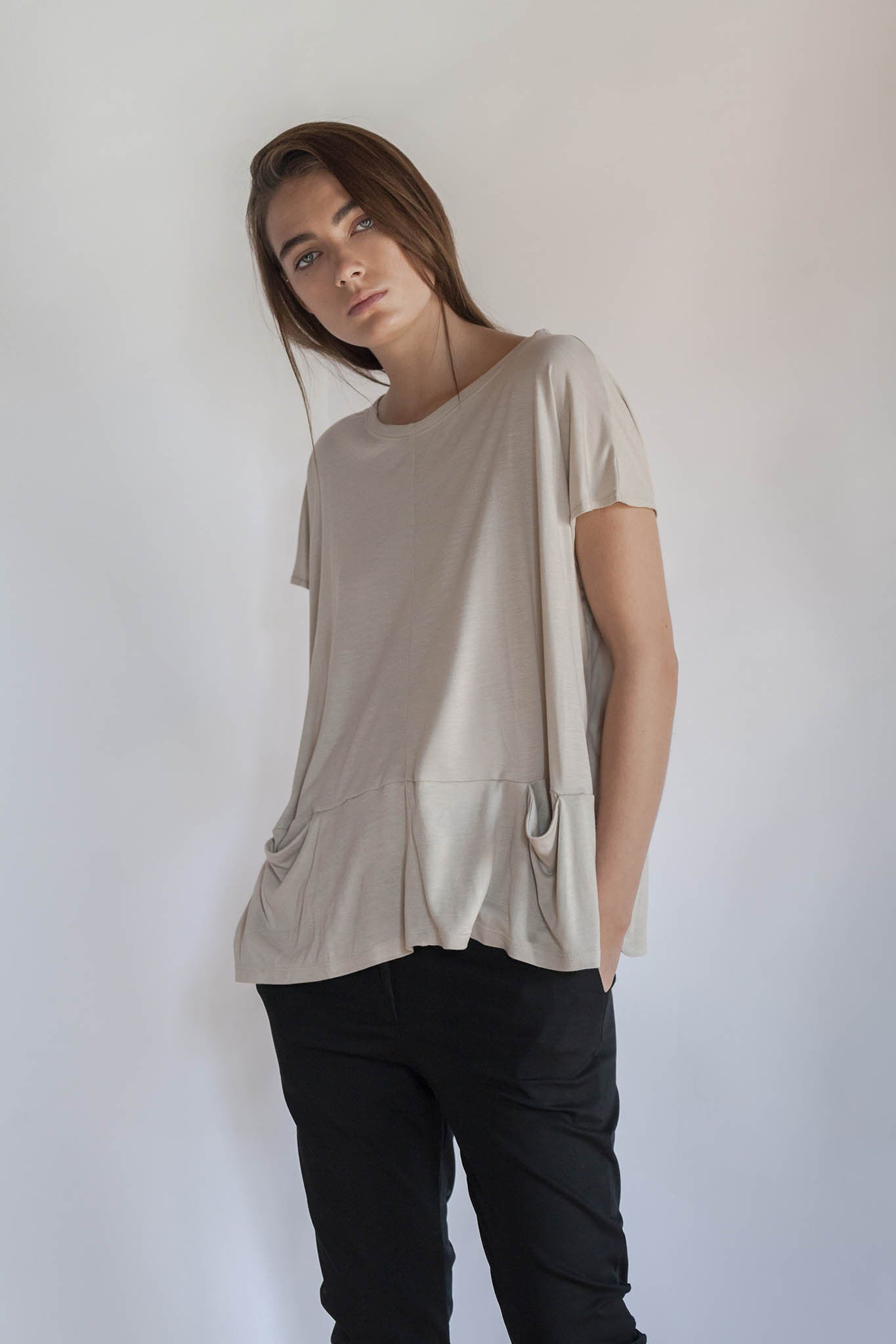 AIRY OVERSIZE T SHIRT- THELMA