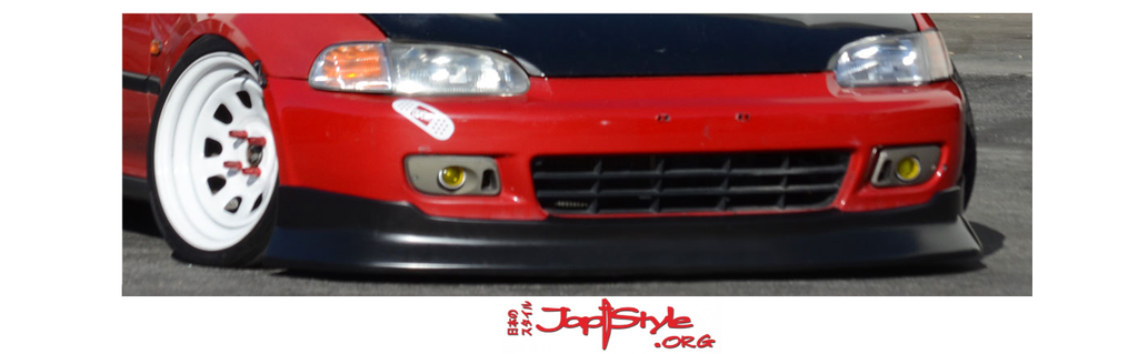 Chargespeed Style Lip (92-95) Civic 2/3 Door EG - JapStyle.org