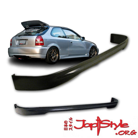 Civic Type R Style Rear Lip (96-00 3 Door) EK - JapStyle.org