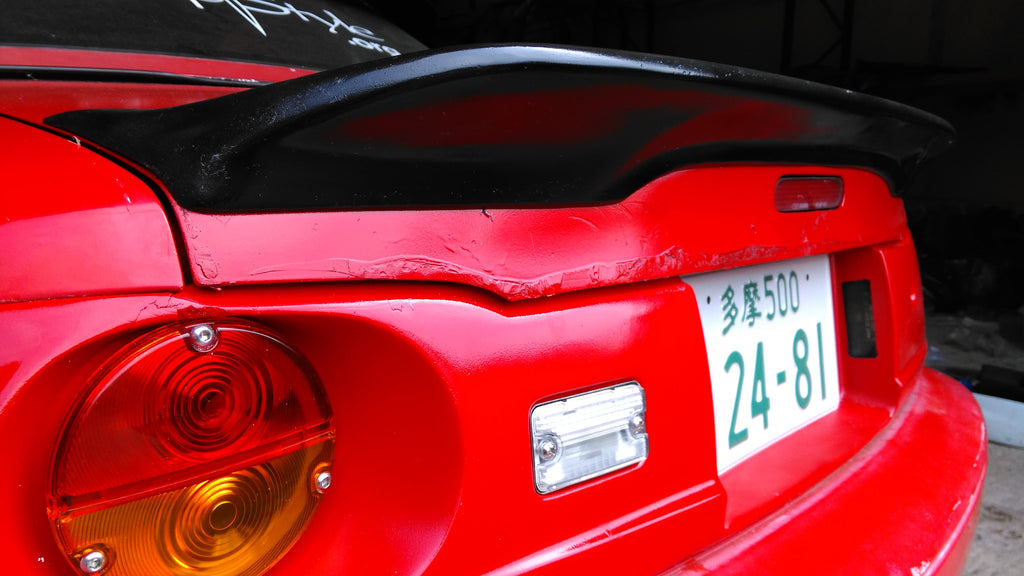 MX5 MK1 JapStyle Spoiler Ducktail Wing - JapStyle.org