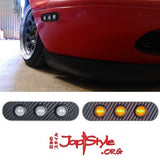 MX5 LED Side Markers / Front Light Side Panels (Clear/Amber) - JapStyle.org