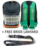 Bride / Takata Style Bag Backpack (Style 2) - FREE BRIDE LANYARD