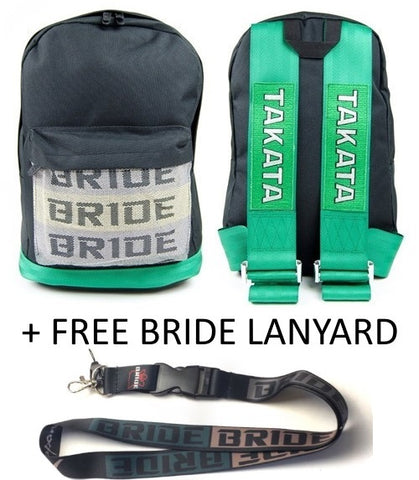 Bride / Takata Style Bag Backpack - FREE BRIDE LANYARD