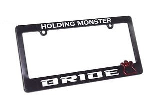 Bride Style Number Plate Frame Surround
