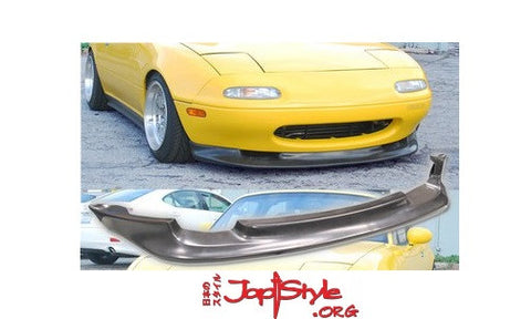 Mazda MX5 MK1 GV Style Front Lip - JapStyle.org