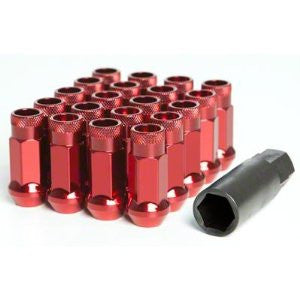 Steel Wheel Nuts - Red - JapStyle.org