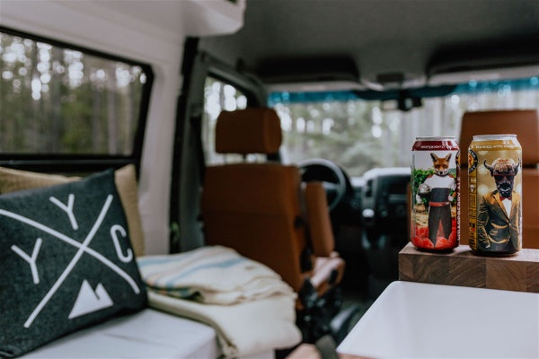Wild Rose Brewery x Yama Vans - Adventure Bound