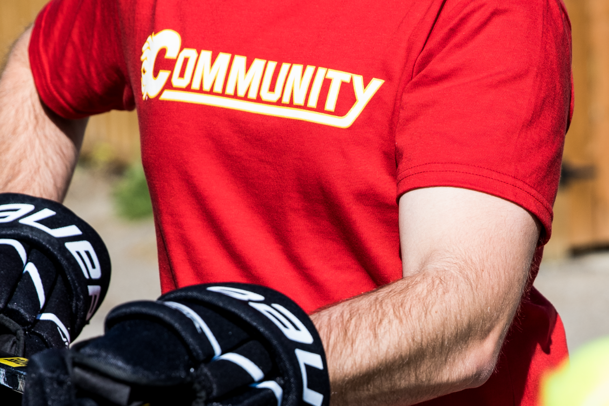 WHY WE MADE THIS: CALGARY FLAMES COMMUNITY T-SHIRT