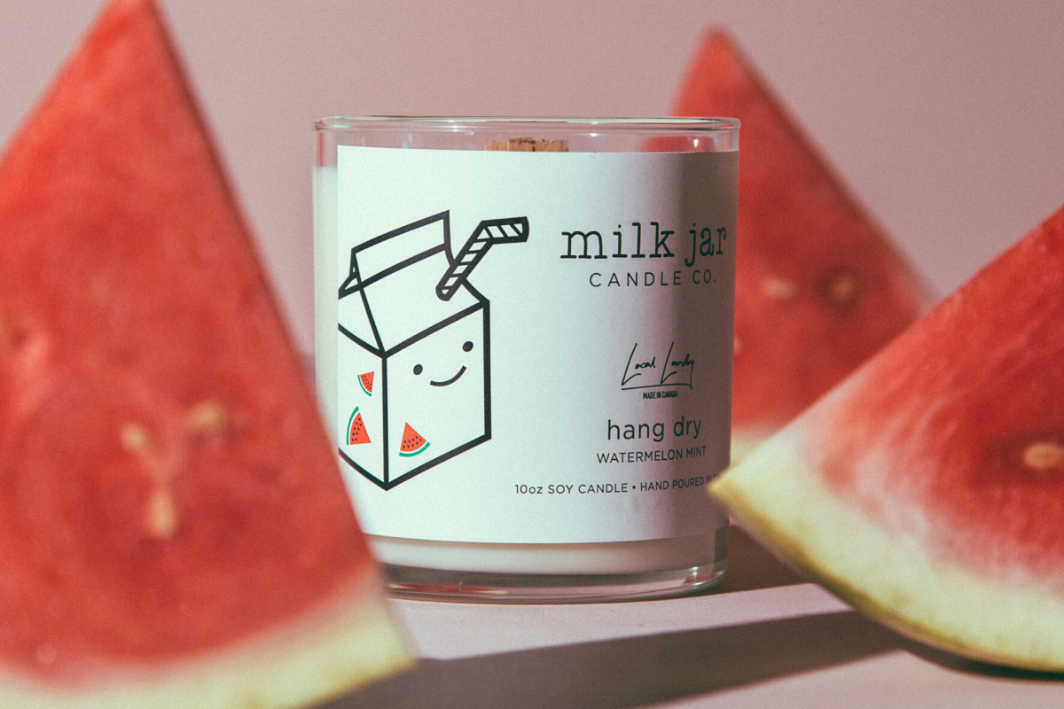 HANG DRY: MILK JAR COLLABORATION CANDLE