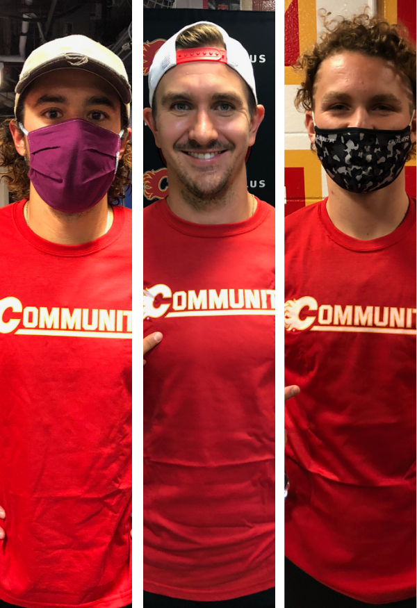 WIN a Calgary Flames Community T-Shirt!