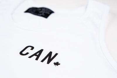 Made in Canada CAN Tank - Unisex - White - Local Laundry