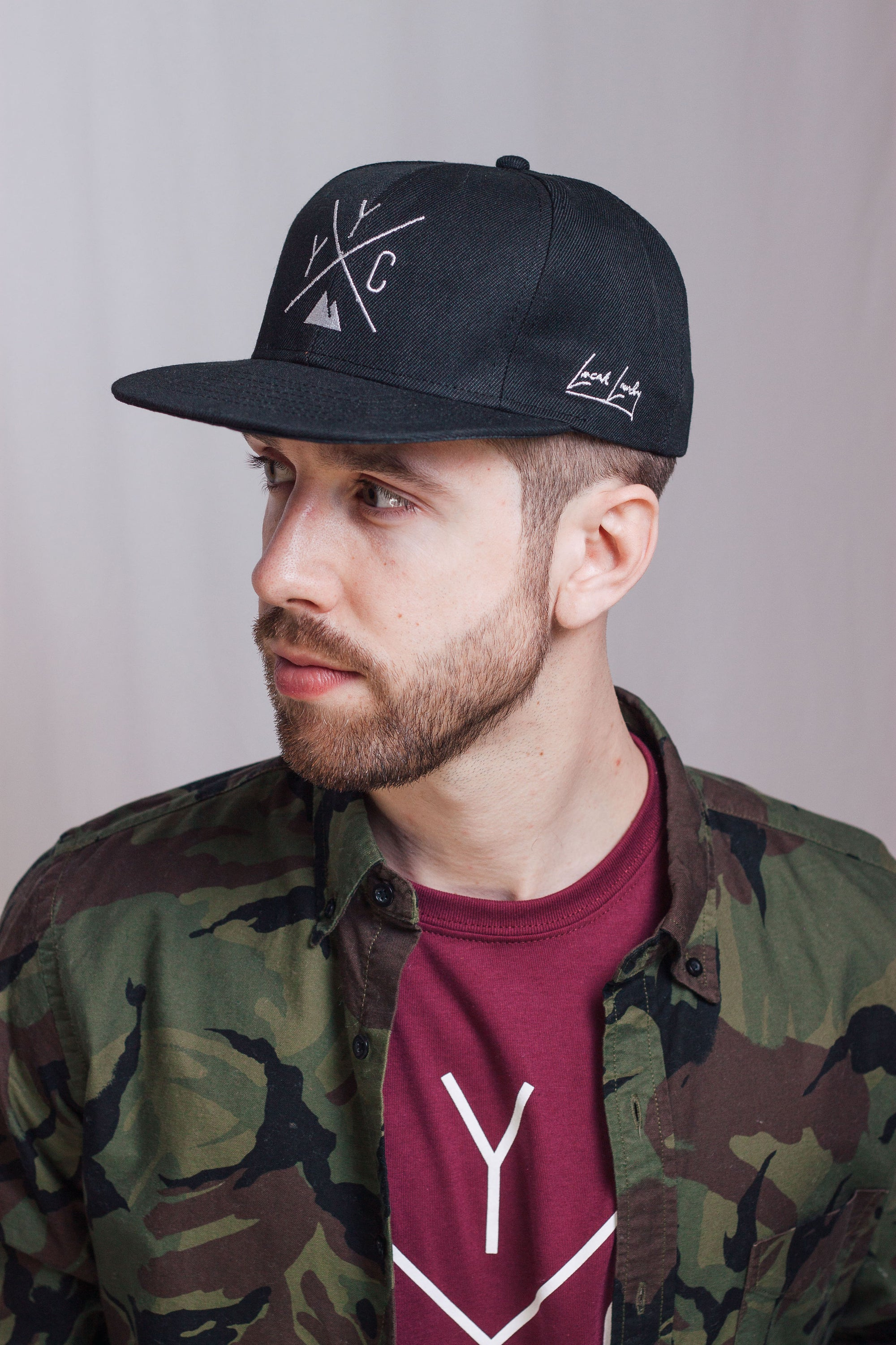 Made In Canada YYC Snapback - Black - Local Laundry
