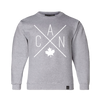 Made in Canada - Youth CAN Crewneck Sweatshirt - Unisex - Sports Grey