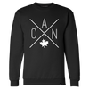 Made in Canada - CAN Crewneck Sweatshirt - Unisex - Black - Local Laundry
