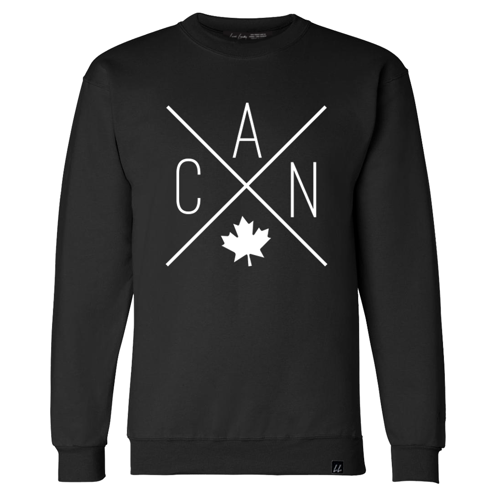 CAN Crewneck - Black 🇨🇦 - Local Laundry