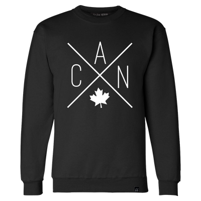 Made in Canada - CAN Crewneck Sweatshirt - Unisex - Black