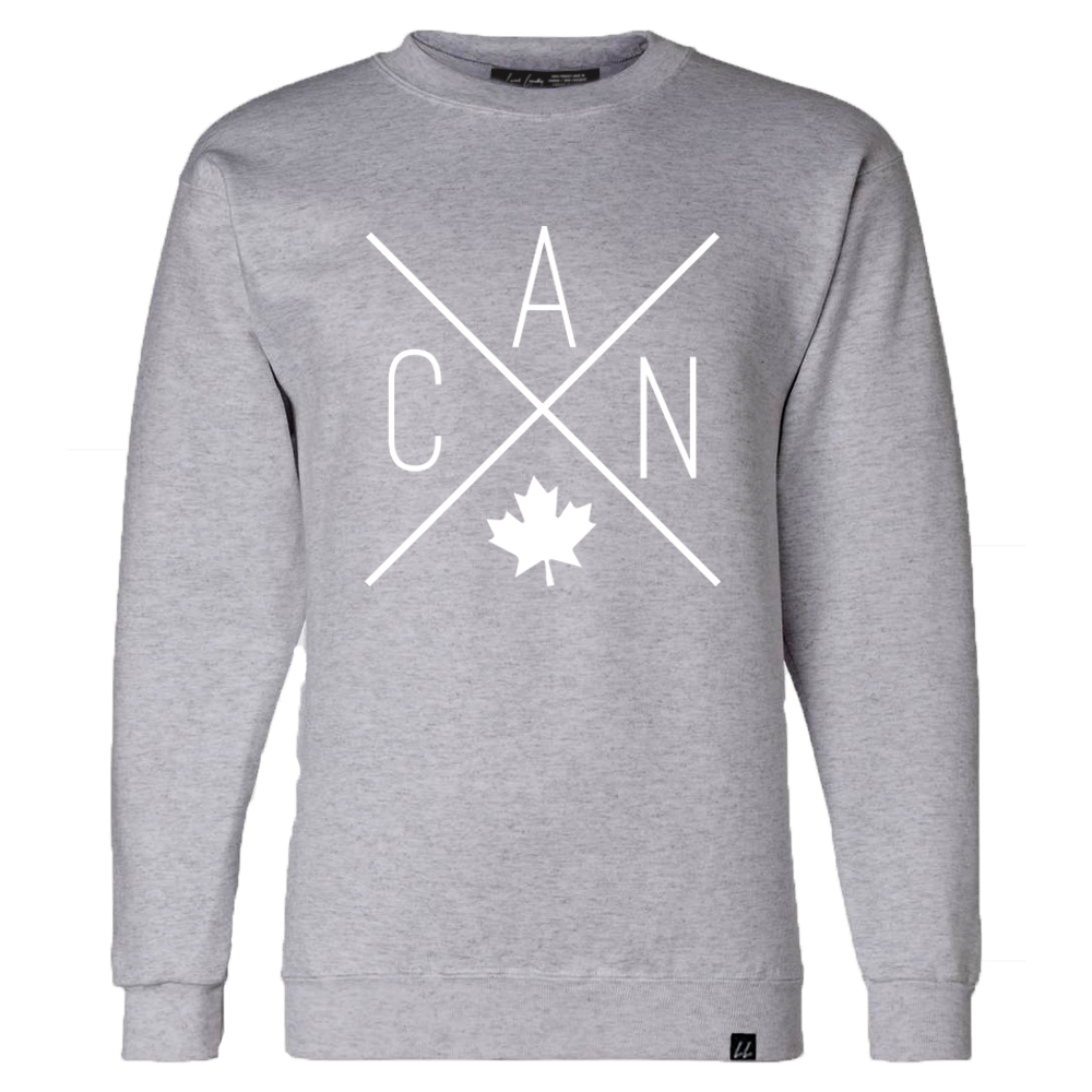 CAN Crewneck - Sports Grey 🇨🇦 - Local Laundry