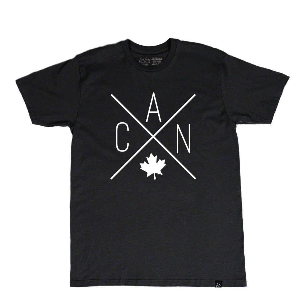 Made in Canada - CAN T-Shirt - Unisex - Black - Local Laundry