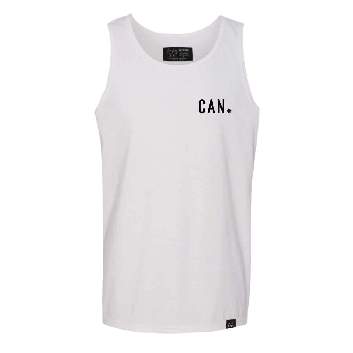 Made in Canada CAN Tank - Unisex - White