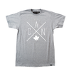 Made in Canada - CAN T-Shirt - Unisex - Sports Grey - Local Laundry