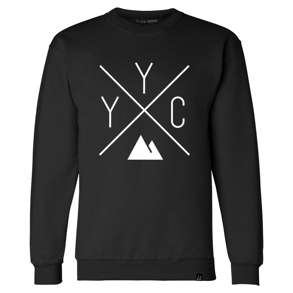 YYC Crewneck Sweatshirt - Black 🇨🇦 - Local Laundry