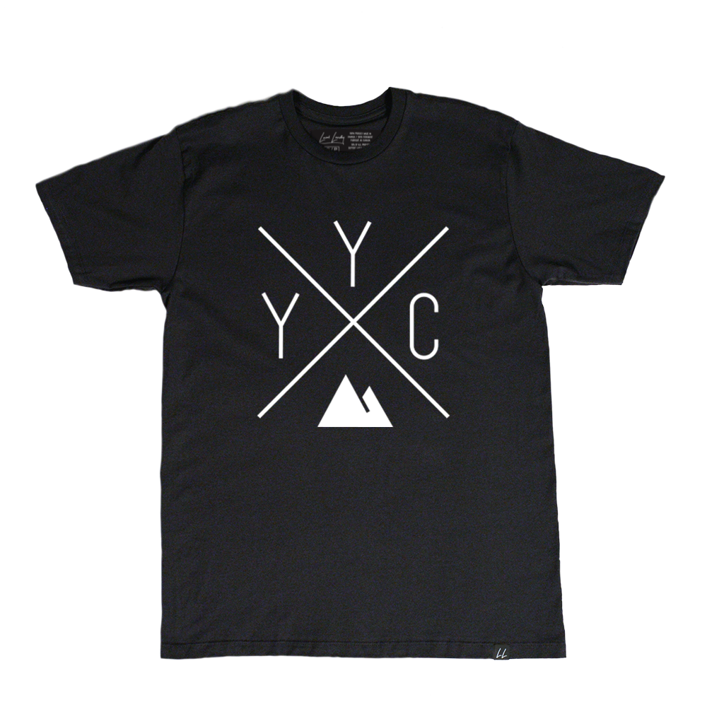 YYC Bamboo T-Shirt - Black 🇨🇦 - Local Laundry