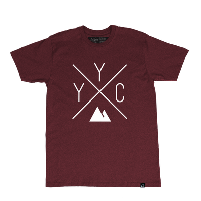 Made in Canada - YYC T-Shirt - X Design - Unisex