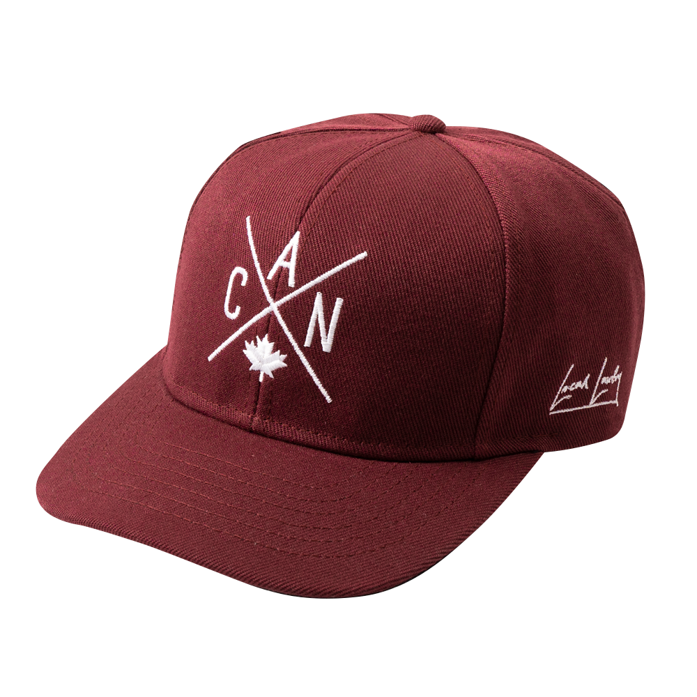 CAN Snapback - Maroon  🇨🇦 - Local Laundry