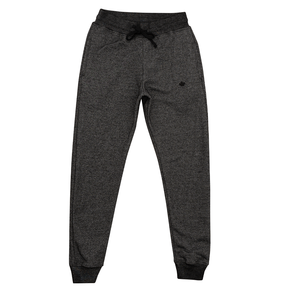 Marled Black Slim Fit Joggers 🇨🇦 - Local Laundry