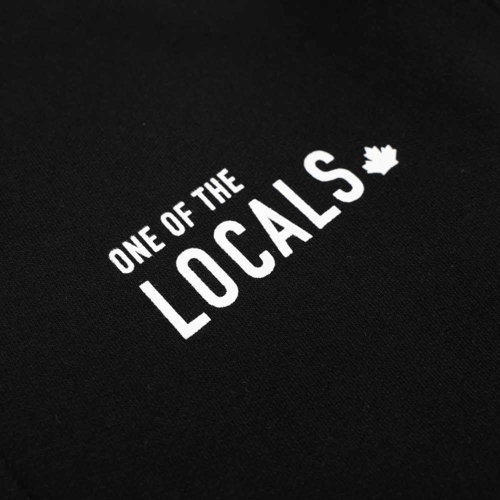 Locals' Bamboo Zip-Up Hoodie - Black 🇨🇦 - Local Laundry