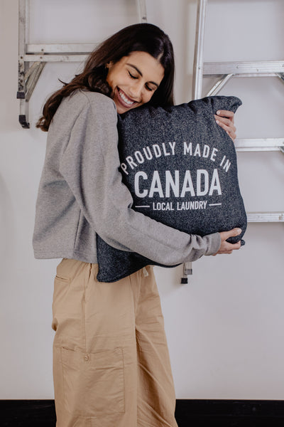 Made in Canada - YYC Pillow - Local Laundry