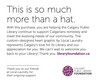 Made In Canada Calgary Public Library Foundation Snapback - Navy - Local Laundry