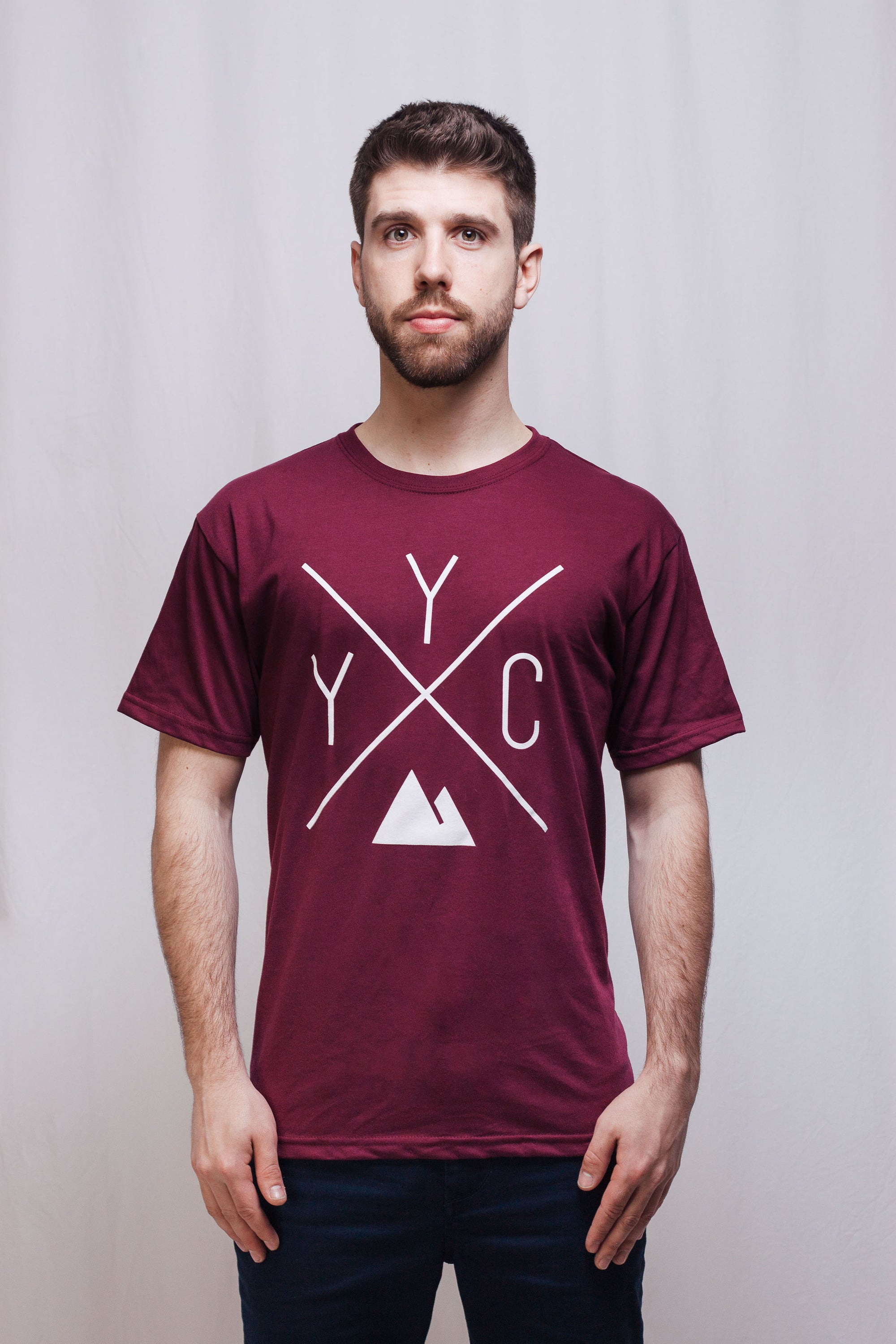 YYC T-Shirt - Maroon 🇨🇦 - Local Laundry