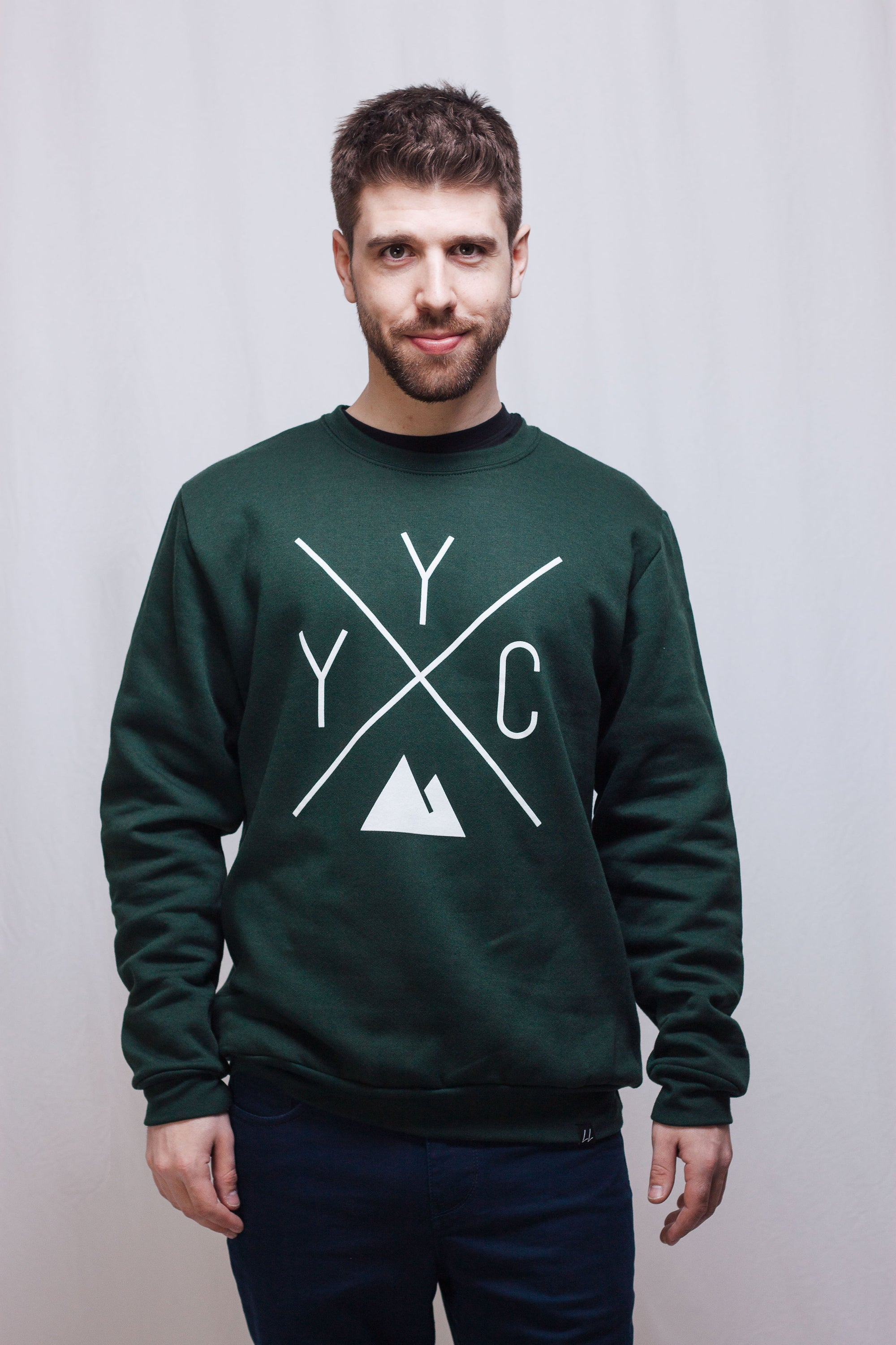 YYC Crewneck Sweatshirt - Forest Green 🇨🇦 - Local Laundry